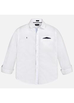 Grain de Chic biała koszula (2Y) groshki bialy guziki w Domodi