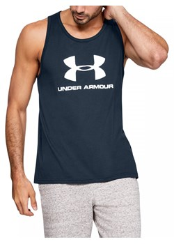 Under Armour t-shirt męski granatowy