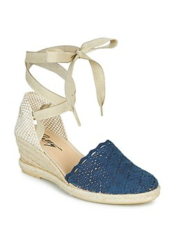 Espadryle damskie Betty London na koturnie casual