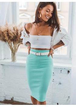 Zielone spódnice, lato 2020 w Domodi