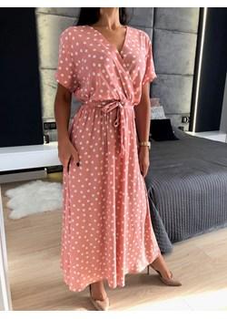 H&M zwiewna sukienka z wiązanym dekoltem Vinted