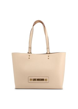 Shopper bag Love Moschino skórzana