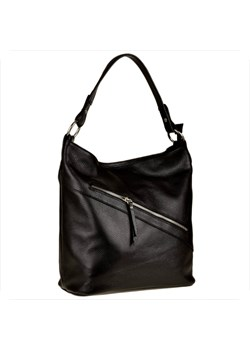Shopper bag czarna Borse In Pelle