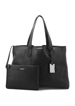 Shopper bag Emporio Armani skórzana