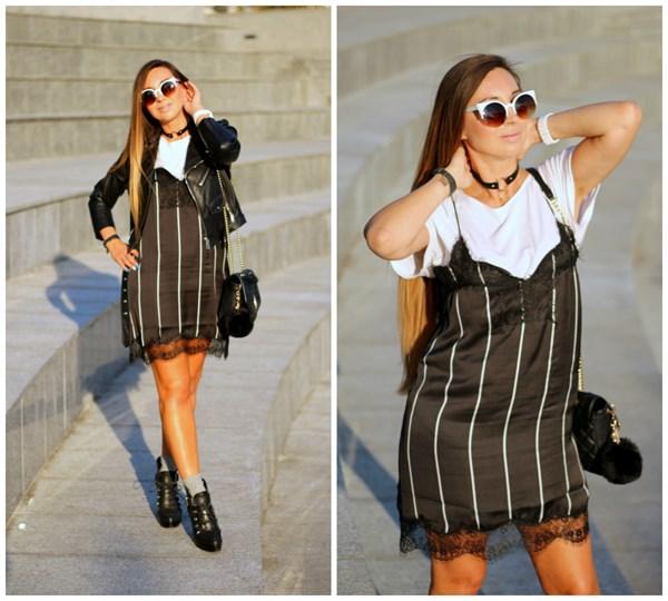ab39782a92416 Sukienka w stylu bieliźnianym