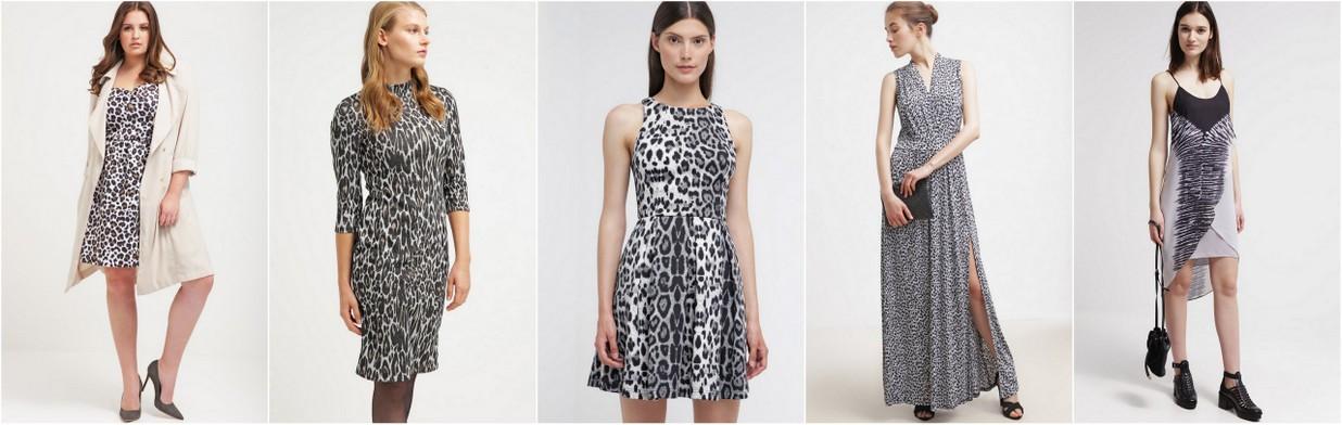 Bądź kociakiem - sukienki w zwierzęce wzory