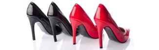 Czarne czy czerwone szpilki?