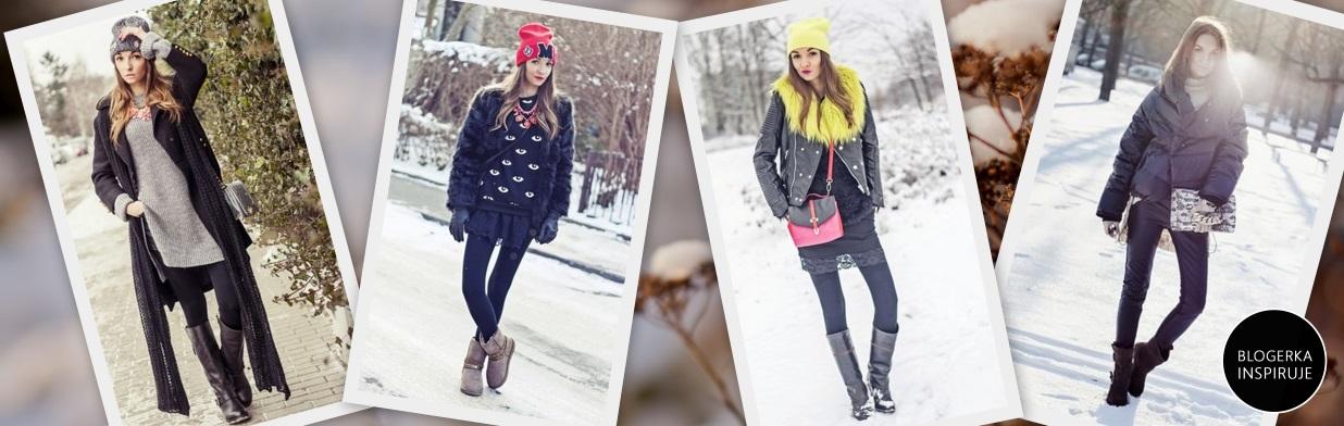 Modowe triki blogerki na zimę