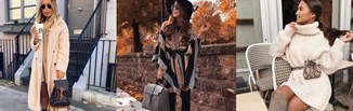 4 sposoby na sukienkę jesienną. Ciepło i stylowo!