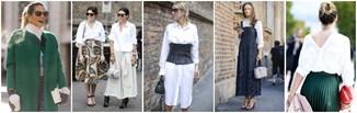6 nowych sposobów na look z białą koszulą