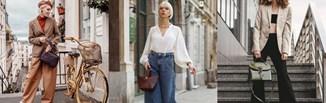 8 stylizacji z szerokimi spodniami na jesień 2021, które zachwyciły nas na Instagramie