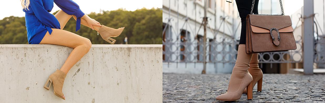 Bezowe Botki W Stylizacjach Na Jesien Jak Nosic Klasyczne Buty W Kolorze Nude Trendy W Modzie W Domodi