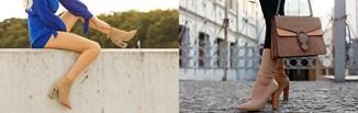 Beżowe botki w stylizacjach na jesień. Jak nosić klasyczne buty w kolorze nude?