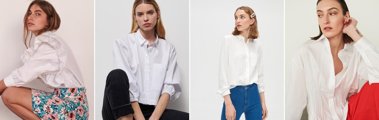 Biała koszula - stylizacje, które Cię zachwycą!