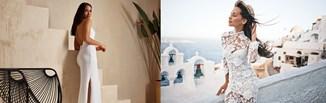 Biała sukienka w stylizacji na lato - 5 modnych pomysłów na look