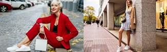 Białe sneakersy damskie - stylizacje zgodne z trendami na wiosnę/lato 2020!