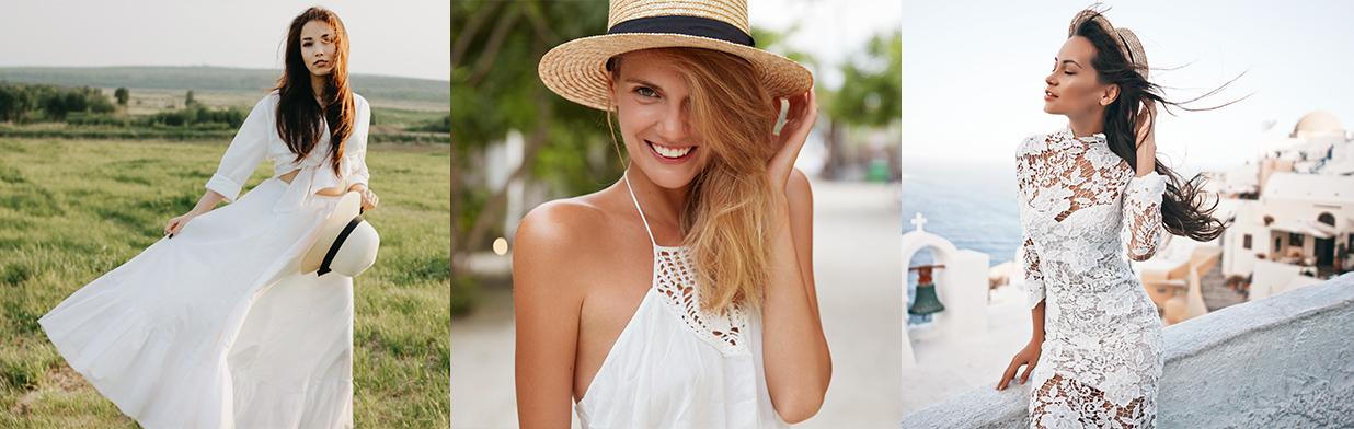 Białe sukienki na lato 2020 - jakie fasony są najmodniejsze w tym sezonie? Sprawdź!