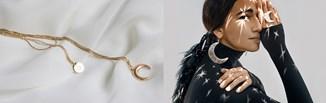 Biżuteria z motywem astralnym - hot trend w szafie fashionistki. Sprawdź, jak ją nosić!