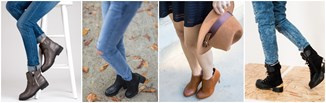 Black Friday - modne botki za małe pieniądze