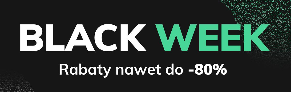Black Week 2020 w Domodi - zajrzyj do sklepów, które przygotowały najlepsze zniżki na Czarny Piątek!