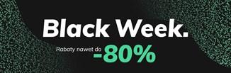 BLACK WEEK: blisko 60 Twoich ulubionych sklepów ze zniżkami do 80%!