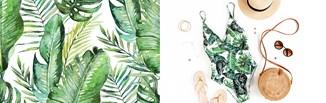 Bliżej natury - motywy roślinne na ubraniach i dodatkach. Jak nosić monsterę, paprocie i inne wzory?