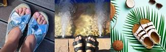 Buty damskie Birkenstock - klapki, sandały i japonki w stylizacjach. Jak je nosić?