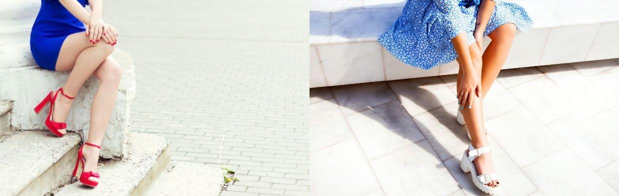 Buty Do Niebieskiej Sukienki Jakie Wybrac Trendy W Modzie W Domodi
