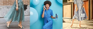 Buty do niebieskiej sukienki. Jakie wybrać?