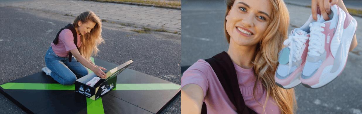 Buty PUMA prosto z drona? Weź udział w konkursie i zrób pierwsze TAKIE zakupy w życiu!
