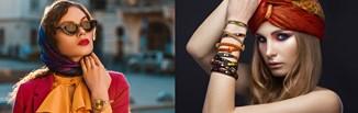 Chusta na głowę – wiosna 2021 pod znakiem modnego dodatku z wybiegów