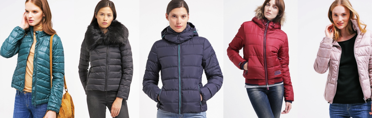 Ciepłe i modne kurtki pikowane