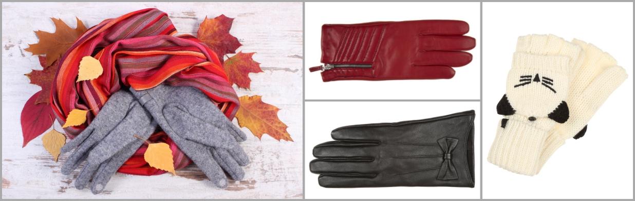 Ciepłe rękawiczki na pierwsze mrozy