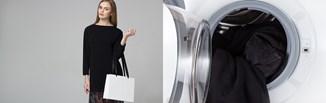 Czarne ubrania - jak prać, żeby nie płowiały? Jak przywrócić kolor czarnym ubraniom? [PORADNIK]