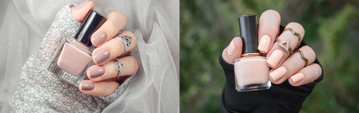 Delikatne paznokcie w odcieniach nude - zobacz najpiękniejsze inspiracje