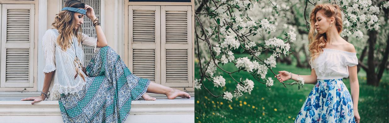 Długa spódnica w stylizacjach na 2020. Sprawdź, z czym nosić modną maxi!