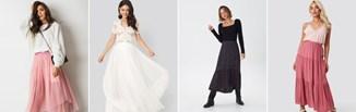 Długie spódnice - 3 stylizacje na różne okazje