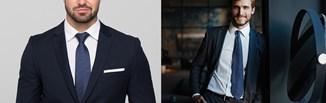 Długość krawata - jaka jest prawidłowa? Sprawdź, jak dopasować długość krawata według savoir vivre!