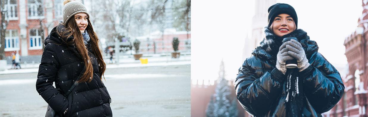 Duże puchowe płaszcze-kołderki: trend na zimę 2020