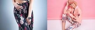 Efektowne spodnie w kwiaty – stylizacje z kwiatowym printem w roli głównej!