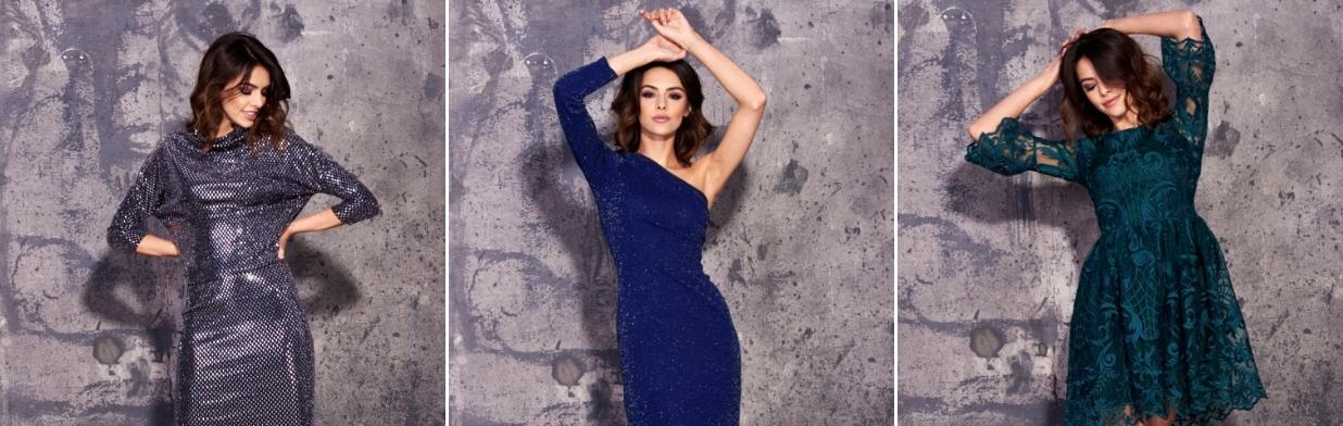 dc14d33dcb Ekskluzywne sukienki na Sylwestra i karnawał - Trendy w modzie w Domodi