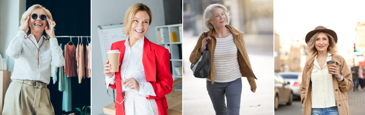 Elegancka 50-latka, czyli modne stylizacje dla pań 50+