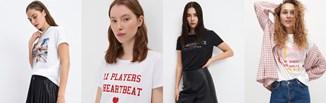 Fajne koszulki damskie z nadrukiem znowu wracają do łask. Jak pomysłowo nosić takie T-shirty?