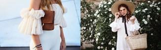 Falbany i falbanki w najmodniejszych stylizacjach - zobacz topowe sukienki i bluzki z tym detalem