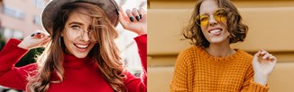 Fryzury jesień-zima 2020/2021 - odkryj najmodniejsze cięcia, upięcia i kolory włosów tego sezonu