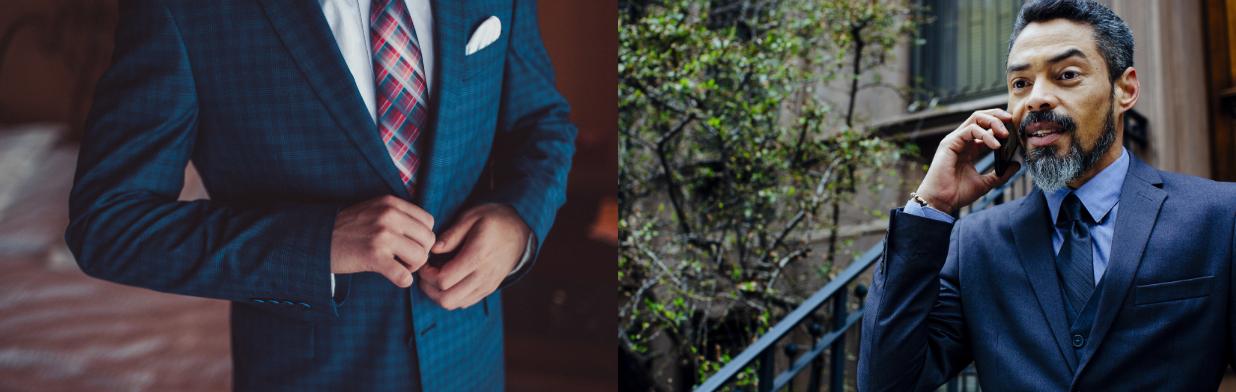 Granatowy garnitur - jaka koszula do niego pasuje? Styliści podpowiadają, jaki kolor będzie idealny!