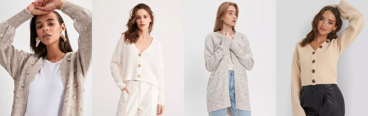 Trendy: długie damskie rozpinane swetry YouTube