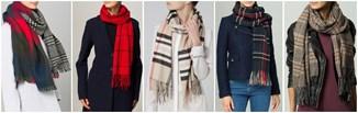 Hit jesieni: kraciaste szaliki