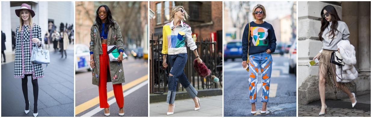 Hit mody ulicznej: białe szpilki