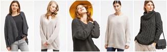 Hit na mroźne dni - sweter oversize!